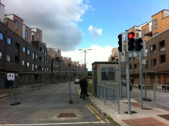 Down the road from Clongriffin - the desolate legacy of the Irish boom - Priory Hall